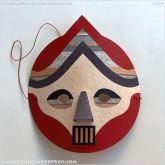 Baluba Series mask, by a ferreira @ Almofate @ Ana Folhas
