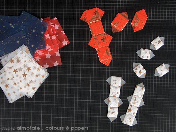 @ Almofate - Origami Tamatebako Units in Tracing Paper _ Módulos em Papel Vegetal