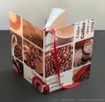 @ Almofate - Coffee themed Sketchbook _ Caderno de Esboços inspirado no café