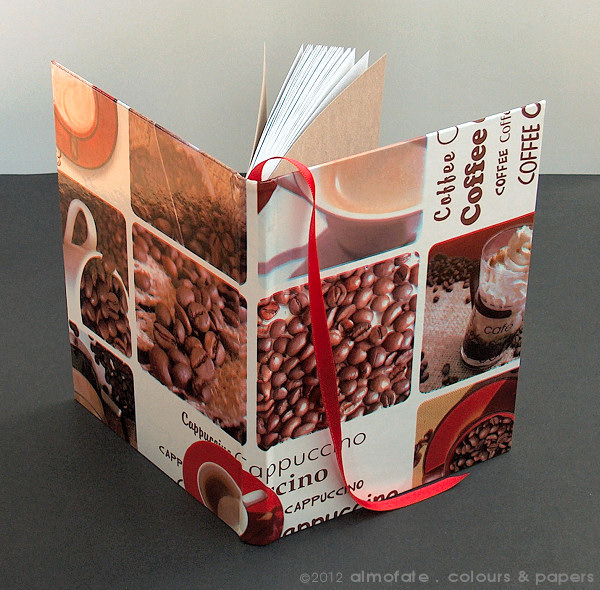 @ Almofate - Coffee themed Sketchbook _ Caderno de Esboços inspirado no café