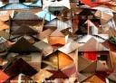 @ Almofate - Multi-modular Origami Quilt _ Assemblage Detail _ Pormenor do Encaixe