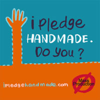 Join the campaign! I Pledge Handmade. Do you?