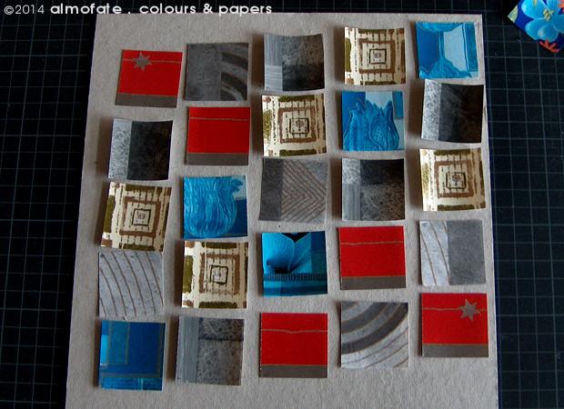 @ Almofate - 25 Squares, Composition _ 25 Quadrados, Composição