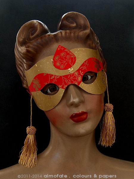 @ Almofate - Handmade mask on old mannequin _ Máscara artesanal em manequim antigo