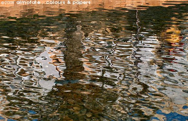 @ Almofate - Garden pond reflections _ Cascais _ Reflexos num tanque de jardim