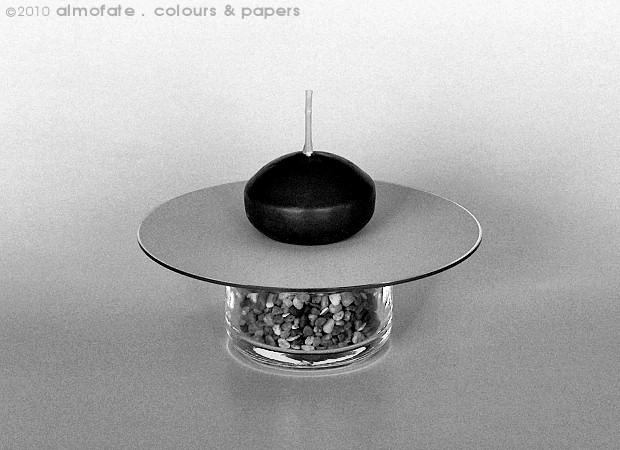 @ Almofate - Minimalist candle holder, upcycling _ Suporte minimalista para vela, reutilização