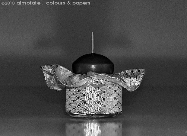 @ Almofate - Candle holder, upcycling _ Suporte para vela, reutilização