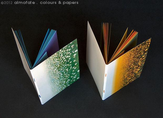 @ Almofate - Vintage Card Journals _ VERGELIS _ Cartões-caderno Vintage