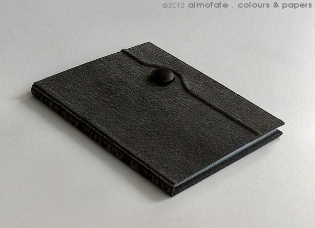 @ Almofate - Notebook with Sculpted Cover _CINZO _ Diário com Capa Esculpida