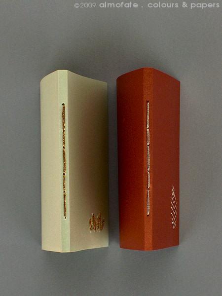 @ Almofate - Embroidered pocket notebooks _ METALIS _ Cadernos de bolso bordados