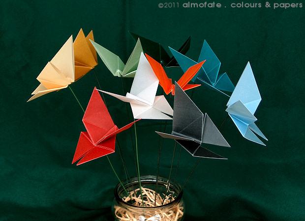 @ Almofate - Butterflies _ Origami, LIBERA _ Borboletas