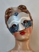 @ Almofate - Old mannequin, handmade mask _ Manequim antigo, máscara artesanal