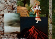 @ Almofate - ERUMPERE n.2 Collage detail _ Colagem, pormenor