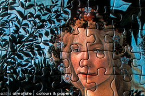 @ Almofate – Botticelli's La Primavera, jigsaw puzzle, detail.