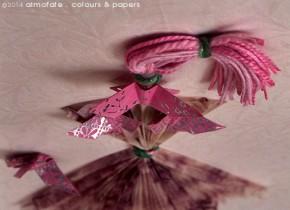 @ Almofate - Retouched Ballerina, detail with butterflies _ Bailarina retocada, pormenor com borboletas