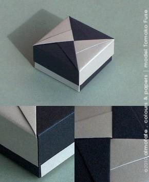 @ Almofate - Tomoko Fuse, Modular Origami _ Gift Box _ Caixa de Oferta
