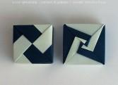 @ Almofate - Tomoko Fuse, Spiral Modular Origami _ Gift Box _ Caixa de Oferta