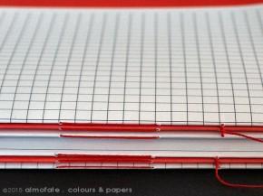 @ Almofate - Book blocks, stitching _ Corpos de livro, costura
