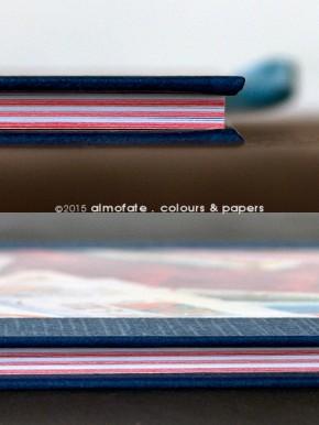 @ Almofate - Handmade journal details _ Diário artesanal, pormenores