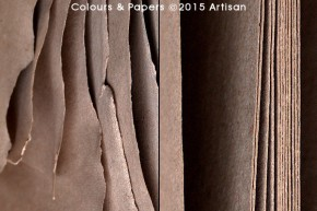 Colours & Papers - Preparing paper