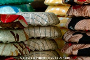 Colours & Papers - Piled Patterns