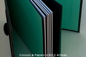 Colours & Papers - Handmade Notebook CINZO