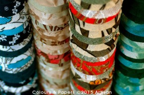 Colours & Papers - Summer season assemblage perspective