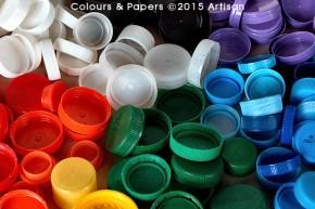 Colours & Papers - Plastic caps