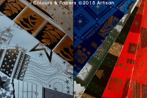 Colours & Papers - Christmas papers selection