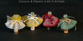 Colours & Papers - Christmas decoration samples